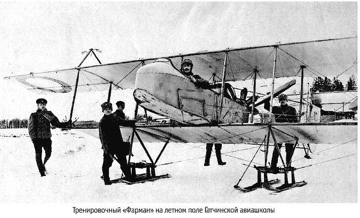 Летное поле Гатчинской авиашколы